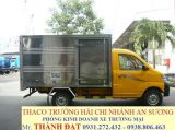 Xe tai nhe may xang chay trong thanh pho THACO TOWNER 950A 750A dong co SUZUKI 550kg 750kg 950kg